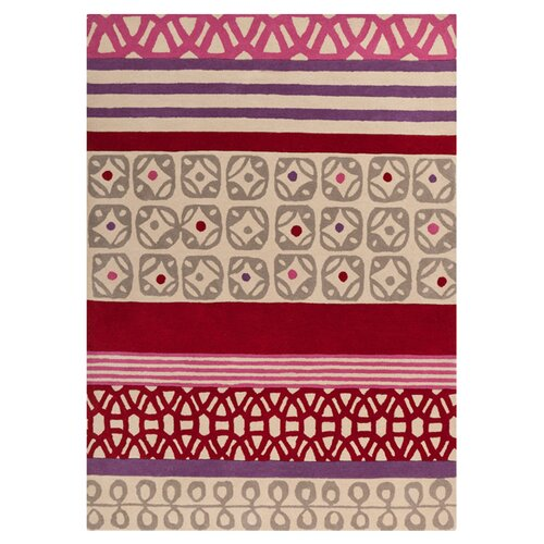Scion Venetian Red/Putty Rug