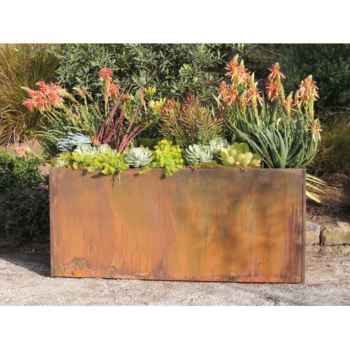 Nice Planter Corten Steel Rectangular Planter Amp Reviews