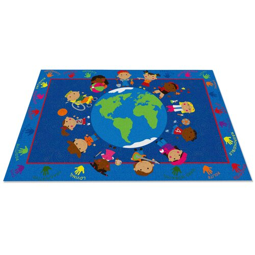 Kid carpet world character classroom kids rug reviews for Classroom rug
