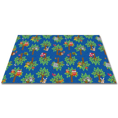 KidCarpet.com Woodland Wonders Animal Kids Rug