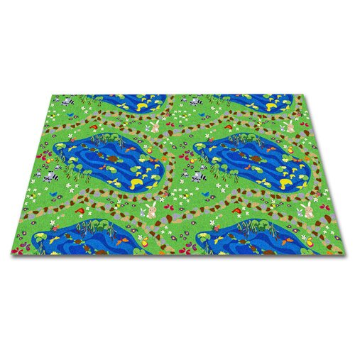 KidCarpet.com Stepping Stones Kids Rug