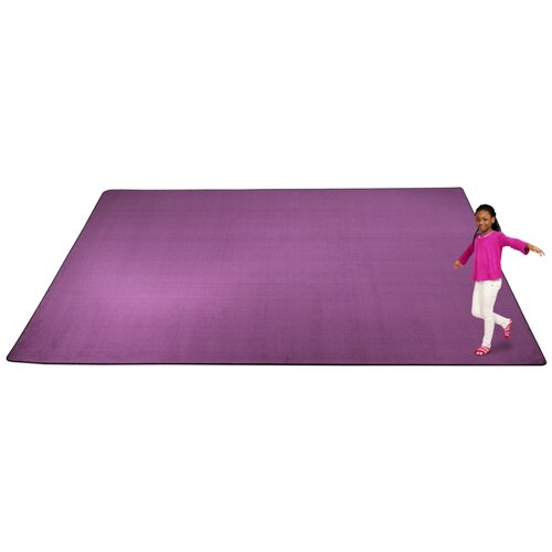 KidCarpet.com KidTastic Purple Kids Rug