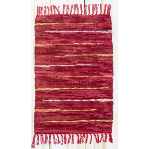 Canyon Red Stripe Rug