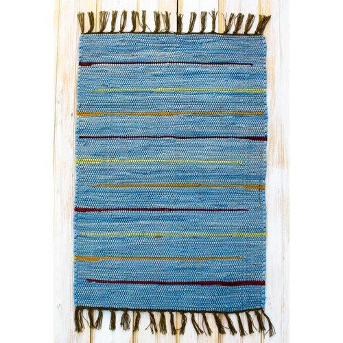 Canyon Blue Stripe Rug