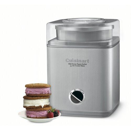 Pure Indulgence 2-qt. Frozen Yogurt-Sorbet & Ice Cream Maker