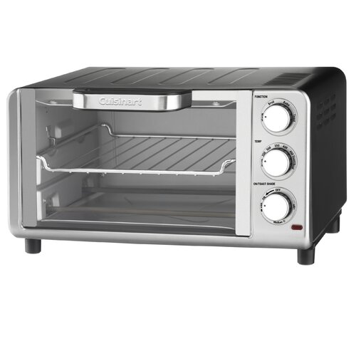 0.35-Cubic Foot Compact Toaster Oven Broiler