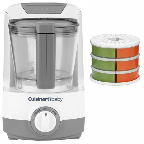 Baby Food Maker / Bottle Warmer with Baby Food Storage / Reheat System
