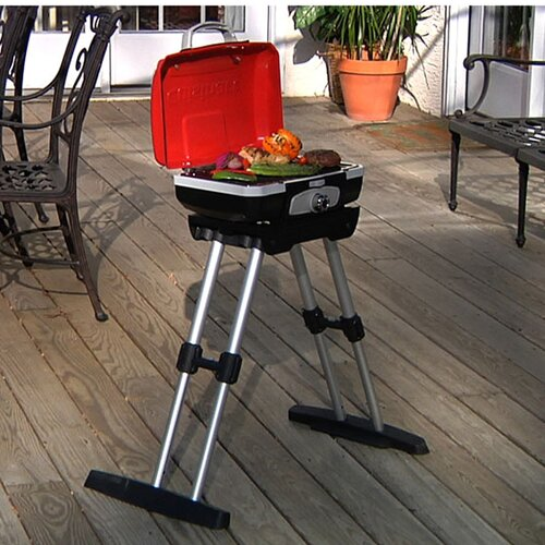 Cuisinart Petit Gourmet Portable LP Gas Outdoor Grill With