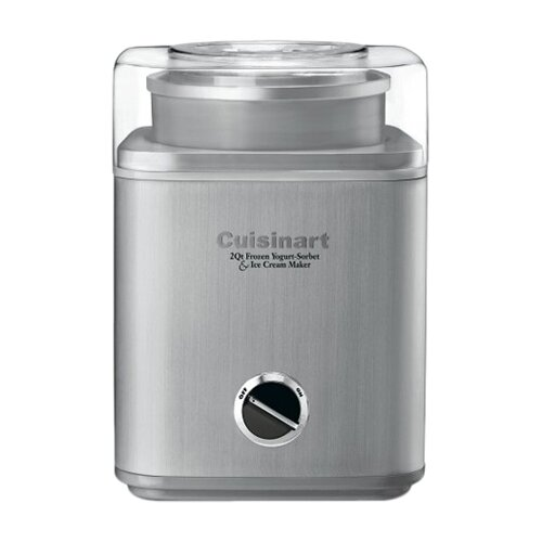 Cuisinart Pure Indulgence 2-qt. Frozen Yogurt-Sorbet & Ice Cream Maker
