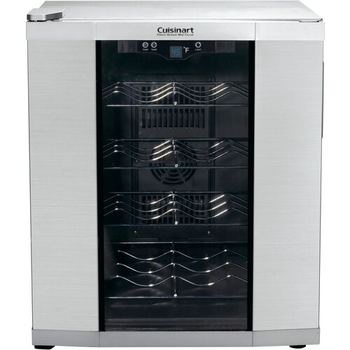 16 Bottle Dual Zone Thermoelectric Wine Refrigerator