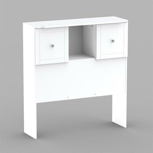 Nexera Pixel Twin Low Bookcase Headboard