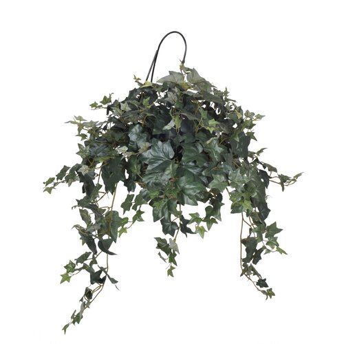 House of Silk Flowers Inc. Artificial Hydrangea Arrangement in Rattan Vase