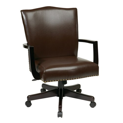 Inspired by Bassett Morgan Eco Leather Manager's Office Chair