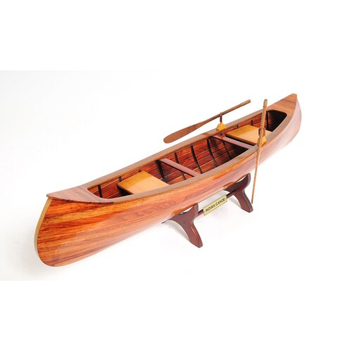 Old Modern Handicrafts Indian Girl Model Boat