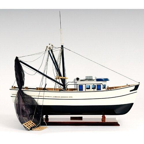 Old Modern Handicrafts Shrimp Model Boat