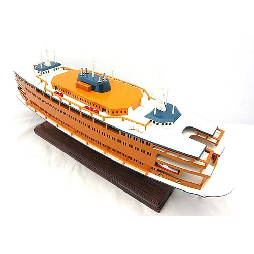 Old Modern Handicrafts Staten Island Ferry Model Boat
