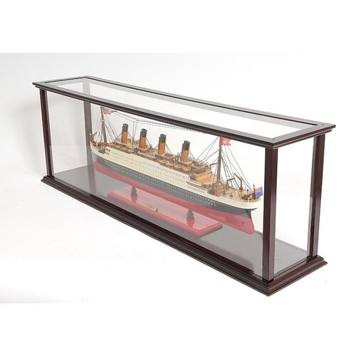 Old Modern Handicrafts Cruise Liner Mid Display Case