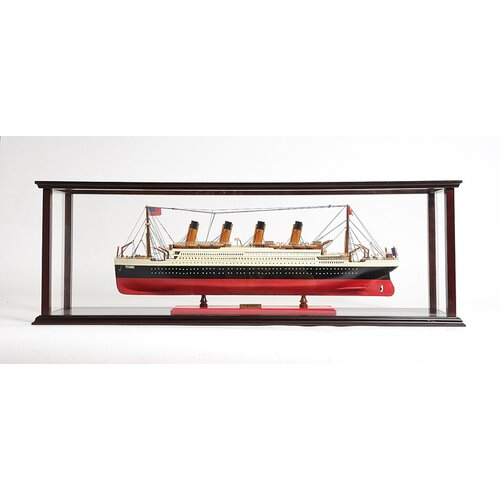 Old Modern Handicrafts Display Case For 40