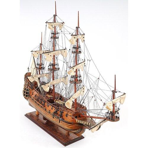 Old Modern Handicrafts Fairfax Speaker-Class Frigate Model Ship