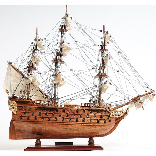 Old Modern Handicrafts Small Victory Model Ship