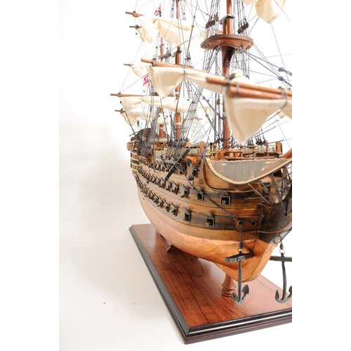 Old Modern Handicrafts HMS Victory Bottom Model Ship