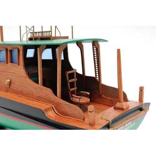 Old Modern Handicrafts Hemingway Pilar Model Boat