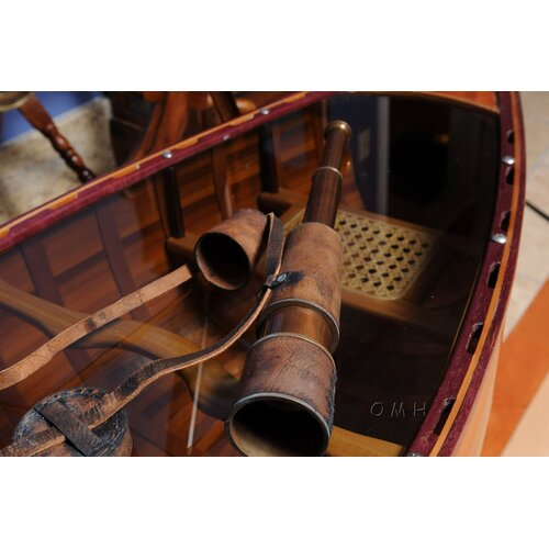 Old Modern Handicrafts Handheld Decorative Telescope