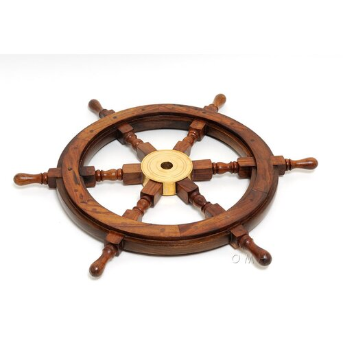 Old Modern Handicrafts Ship Wheel