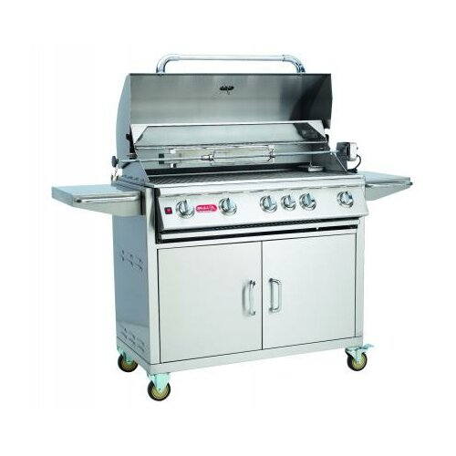 Bull Outdoor 38 Brahma Built In Gas Grill With Lights
