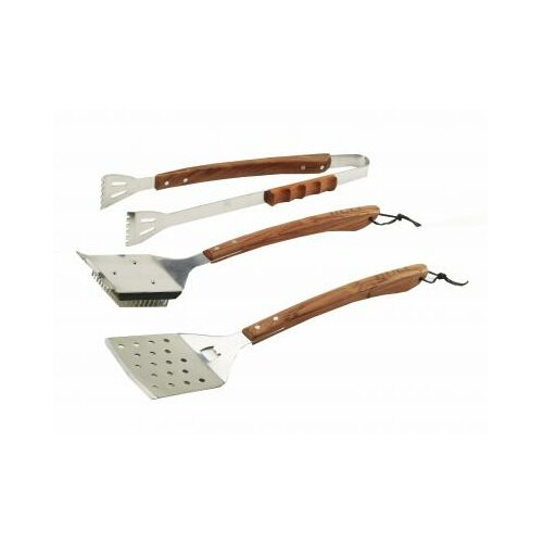 Bull Outdoor Products Vineyard Rosewood 3 Piece BBQ Tool Set