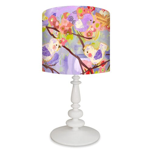 Oopsy Daisy Cherry Blossom Birdies Table Lamp