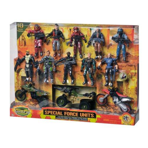 Lanard Corps 12-Piece Special Forces Set