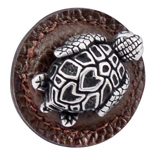 "Vicenza Designs Pollino Turtle 1.25"" Cabinet Novelty Knob"