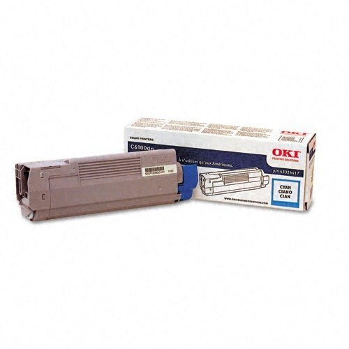 OEM Toner Cartridge, 5000 Page Yield, Cyan