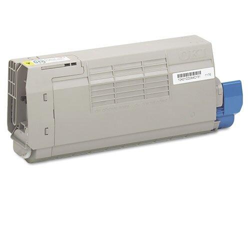 43866101 OEM Toner Cartridge, 11500 Page Yield, Yellow