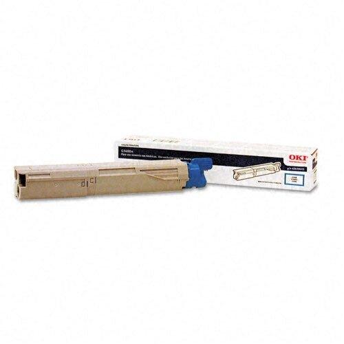 43459403 OEM Toner Cartridge, 1000 Page Yield, Cyan