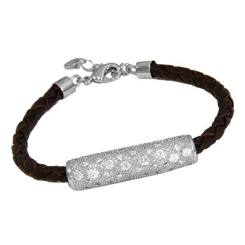 Ana Braided Brown Leather Bracelet