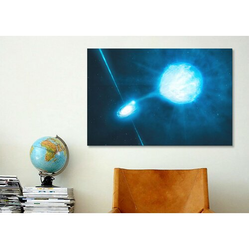 iCanvasArt Black Hole Wall Art on Canvas