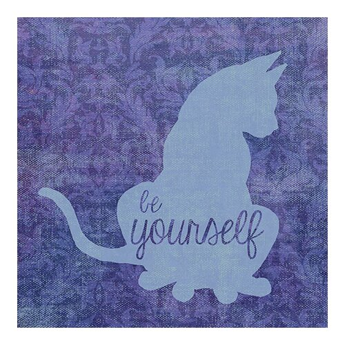 "iCanvasArt ""Cat"" Canvas Wall Art By Erin Clark"