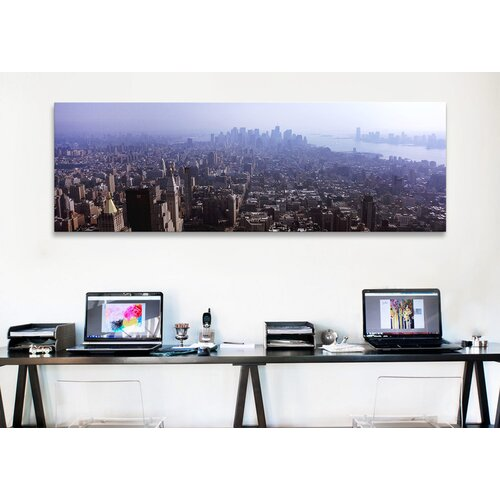 iCanvasArt Panoramic 'Manhattan, New York City' Photographic Print on Canvas