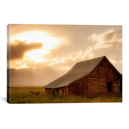 iCanvasArt 'Mountain Home' by Dan Ballard Photographic Print on Canvas