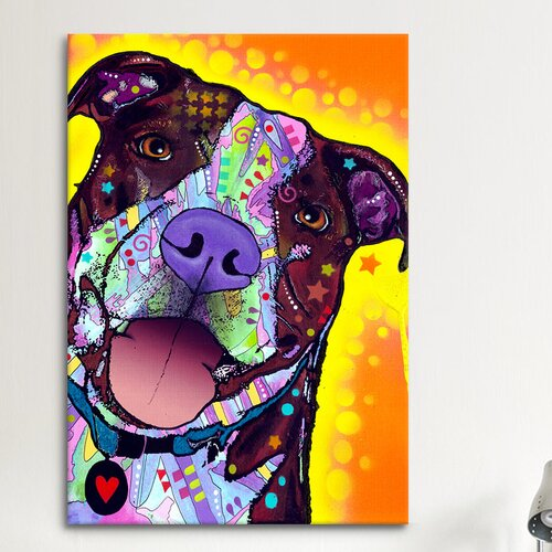 iCanvasArt 'Daisy Pit' by Dean Russo Graphic Art on Canvas