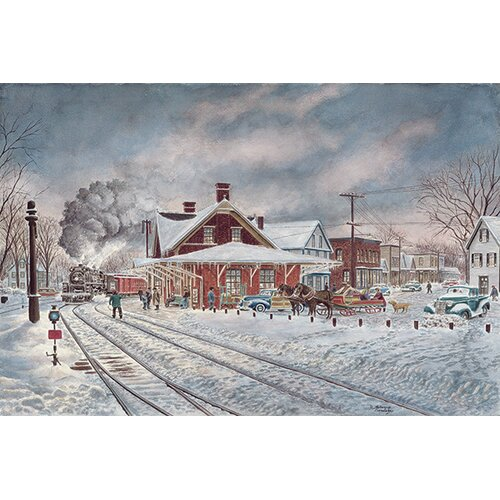 iCanvasArt Wilton, NH by Stanton Manolakas Painting Print on Canvas