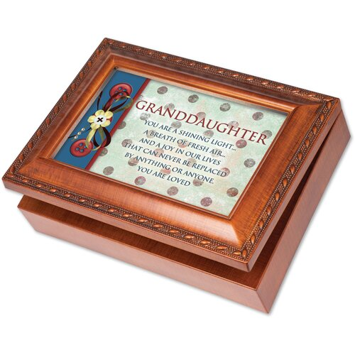 cottage garden traditional granddaughter music box reviews wayfair. Black Bedroom Furniture Sets. Home Design Ideas