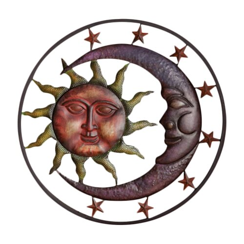 Sun Moon and Stars Wall Decor