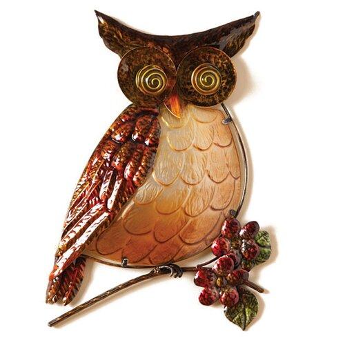 Cape Craftsmen Owl Wall Décor