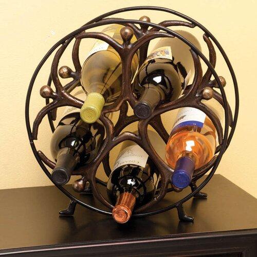 Cape Craftsmen 5 Bottle Tabletop Wine Rack
