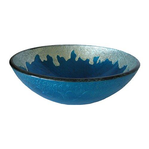 Bathroom Glass Vessel Sinks : Diaccio Glass Vessel Bathroom Sink Wayfair