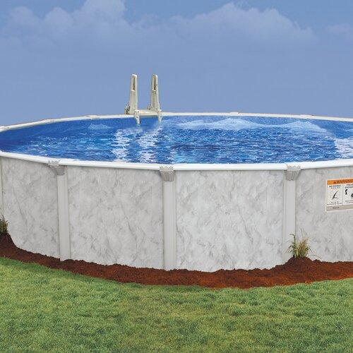 """Embassy Pools Oval 52"""" Deep Oasis 101 Pool Package"""