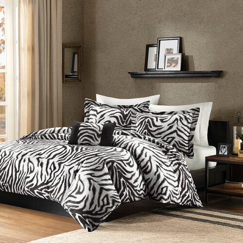 Madison Park Zara 4 Piece Duvet Set